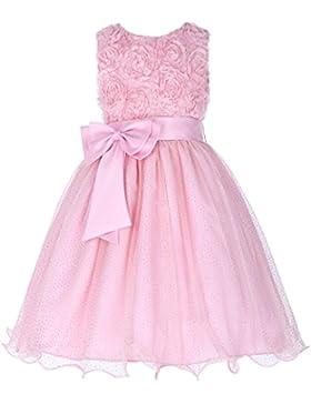 Grace Karin® Maedchen Prinzessin Kleid Hochzeits Festzug Kleid Blumenmaedchenkleid