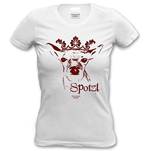 Damen T-Shirt Frauen Girlie kurzarm Trachten Oberteil :-: Outfit zum Volksfest Wiesn Dult Oktoberfest :-: Geburtstagsgeschenk Geschenkidee für Sie :-: weiß-01