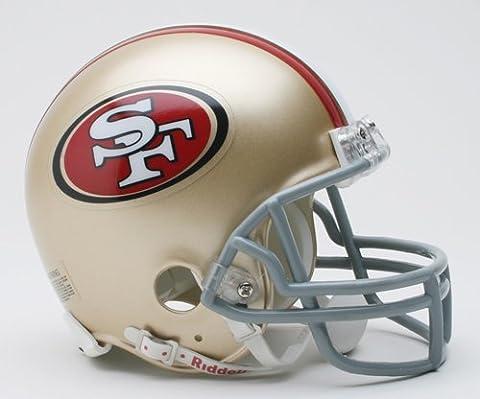 San Francisco 49ers Replica Mini Helmet w/ Z2B Face Mask