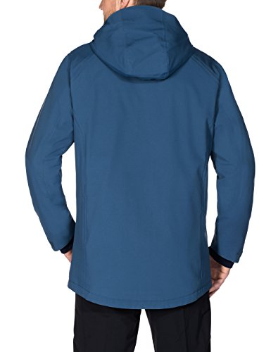 Vaude Herren Men's Altiplano Wool Parka Fjord Blue