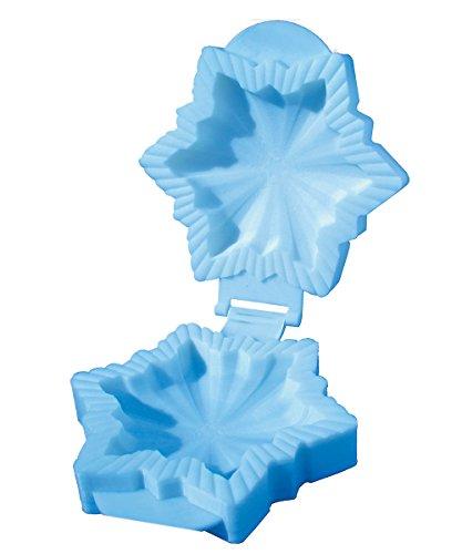 R&M International Pocket Pie Maker Snowflake Shape hellblau