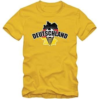 Deutschland EM 2016 #1 T-Shirt   Fußball   Herren   Fanshirt   Trikot   Nationalmannschaft