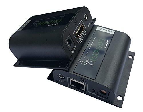 Sac 60m Extender HDMI tramite singolo cat5e/6/7con IR e passante