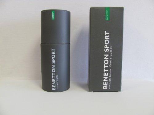 BENETTON SPORT von United Colors Of Benetton für Herren. EAU DE TOILETTE SPRAY 3.3 oz / 100 ml -