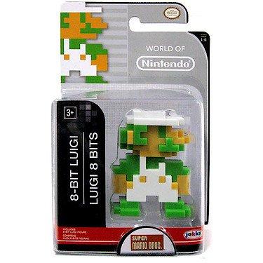 8 bit Luigi - 6 cm (Serie World of Nintendo)