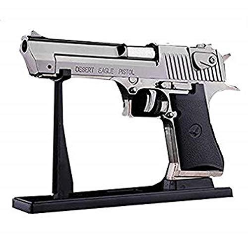 Unbekannt Desert Eagle Pistole Feuerzeug mit Gas Silber -