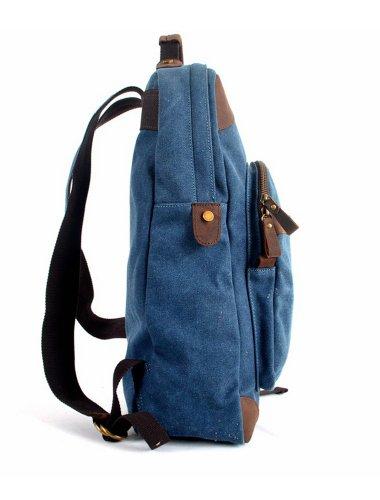 Avachee 37851198069, Borsa a zainetto donna Blu (Blu navy)