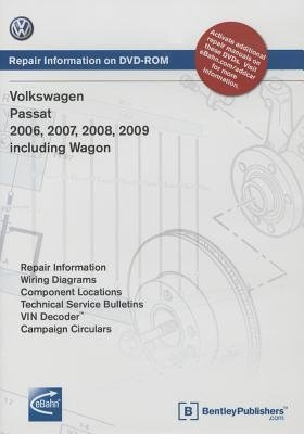 [(Volkswagen Passat 2006, 2007, 2008, 2009: Repair Manual on DVD-ROM: Includes Wagon)] [Author: Volkswagen of America] published on (April, 2009)