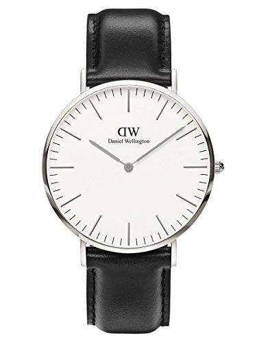 Mens Daniel Wellington Sheffield Silver 40mm Watch DW00100020