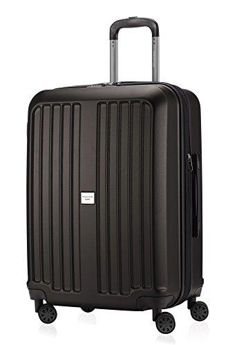 HAUPTSTADTKOFFER - X-Berg - Koffer Trolley Hartschalenkoffer, TSA, 65 cm, 90 Liter, Graphite