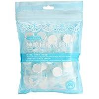 LUFA 50pcs / set de toallas desechables aire comprimido mágico viaje algodón Máscara de tejido de
