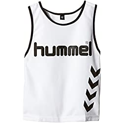 Hummel Fundamental Training - Camiseta de entrenamiento para niños, color blanco, talla 8/128