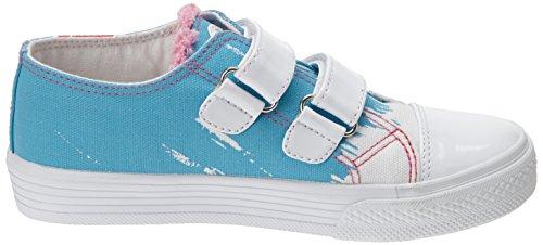 Agatha Ruiz de la Prada - 152924, Sneaker basse Bambina Blu (Blau (A-AZUL (PIQUE)))