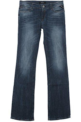 Replay, Ramean Bootcut, Damen Jeans Hose, Stretchdenim, blue used, W 28 L 32 [19950]