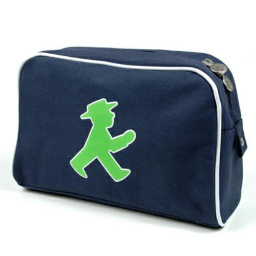Preisvergleich Produktbild AMPELMANN Kosmetik Tasche - Frischmacher Geher blau