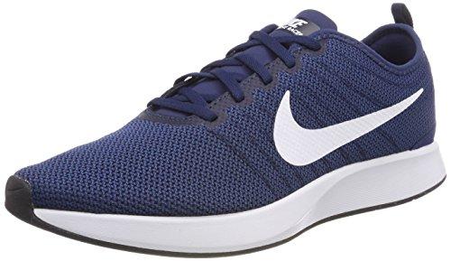 Nike Herren Dualtone Racer Gymnastikschuhe, Blau (Midnight Navy/White/Coastal Bl 400), 42.5 EU