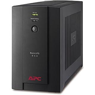 APC Back-UPS BX - Unterbrechungsfreie Stromversorgung 950VA BX950U-GR (AVR, 4 Schuko Ausgänge, USB) schwarz