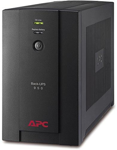 Backup-stromversorgung (APC Back-UPS BX - Unterbrechungsfreie Stromversorgung 950VA BX950U-GR (AVR, 4 Schuko Ausgänge, USB) schwarz)