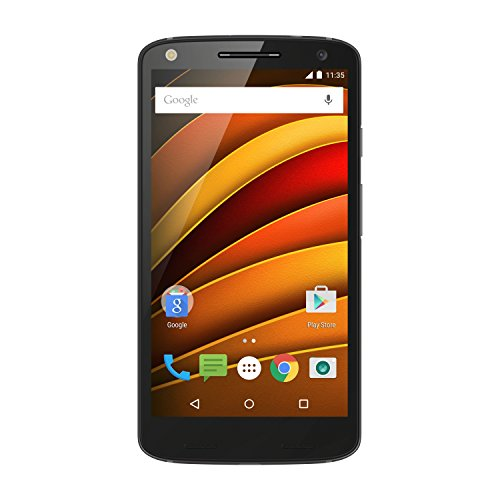 "Motorola X Force - Smartphone de 5.4"" (Android 5.1 Lollipop, Qualcomm Snapdragon 810 2.0 GHz, cámara trasera de 21 MP, 3 GB de RAM) color negro (importado de Francia)"
