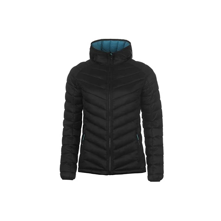 d2ae09f79682 Karrimor Womens Hot Crag Insulated Jacket Down Coat Top Long Sleeve ...
