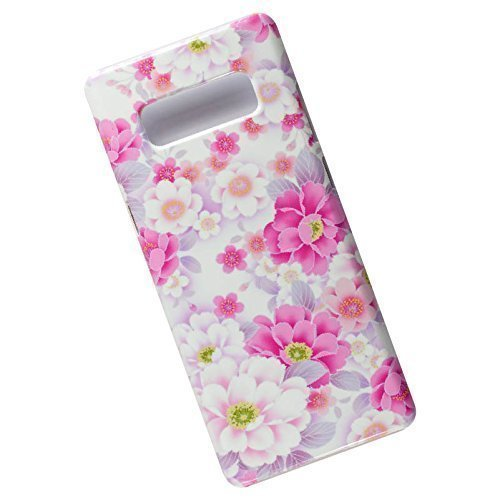 Slim-Case-for-Samsung-Galaxy-Note-8-Tasche-Cover-Wild-Roses