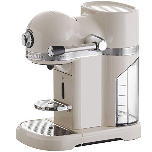 KitchenAid 5KES0503EAC/4 Nespresso Kaffeeautomat Serie Artisan, crème