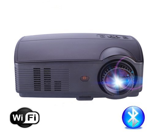 Video proyector HD LED 4500 Lumens WiFi Bluetooth HDMI USB: Amazon ...