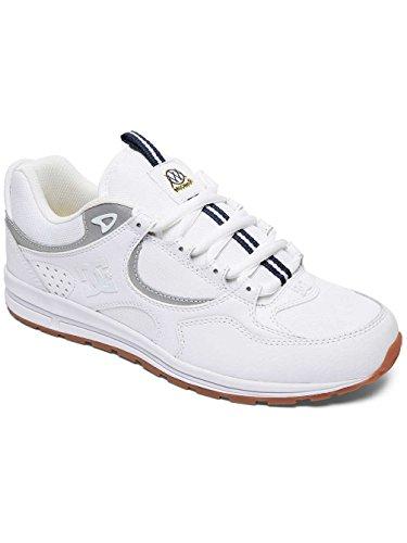 Uomini Per Scarpe Kalis Bianco Adys100383 Dc S Gli Skate Sottile Lite Bianco Da Bianco Shoes Xqw6f86v
