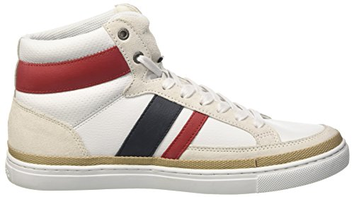 Tommy Hilfiger Herren M2285aze 2 High-Top Rot (RWB 020)