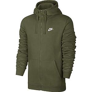 Nike Herren Sportswear Full Zip Fleece Club Kapuzenjacke