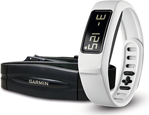 Garmin vívofit 2 Fitnessarmband mit Batterielaufzeit bis 1 Jahr und inklusive Herzfrequenz-Brustgurt