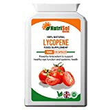 NutriSol Health Lycopene 15 mg 120 Capsules | Antioxidant | Eye Function | Support Health Heart & Prostate Function | May Help Maintain Healthy Skin Exposed to Sun Damage