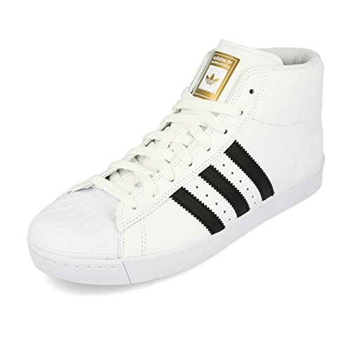 adidas Pro Model Vulc ADV, Chaussures de Skateboard Homme Blanc (Ftwbla/Negbas/Dormet)