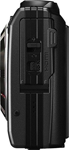 """Olympus Stylus TG-4 Fotocamera Digitale Olympus 16 MP, Sensore CMOS, Zoom Ottico 4x, LCD da 7.6 cm/3"""", Full HD, Impermeabile Fino a 15 m, GPS, Raw, Nero"""