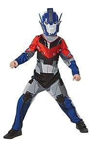 Rubies - Disfraz Oficial de Optimus Prime de Transformers para niño, Talla Mediana