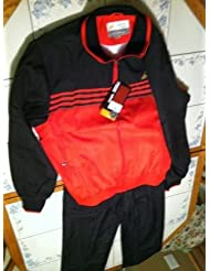 Nike W Nsw Trk Suit Pk Oh - Chándal para mujer, color rojo, talla M