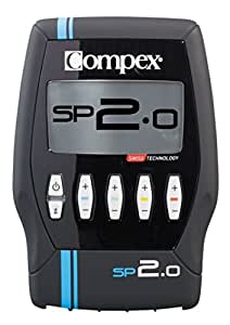 Compex SP 2.0 Muscle Stimulator - Recovery, Prevent Injury, Improve Performance, Pain Relief, Effective Electrostimulation, Tones Your Muscles, Training, Minimum Exercise, Helps Sculpt Your Body