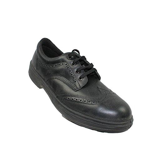 Abrium swing berufsschuhe businessschuhe chaussures s1P chaussures de sécurité chaussures plates noir Noir