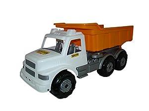 Wader Maxi Camión volquete (Naranja / Blanco)