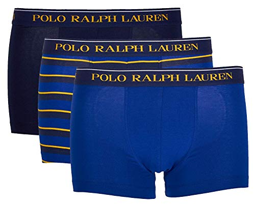 Polo Ralph Lauren 3 Pack Classic Trunk Stretch Cotton (L, Multi (038)) (Ralphs Lauren)