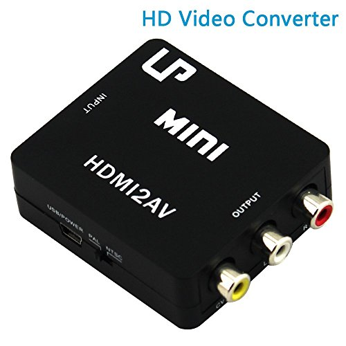 LP 1080P HDMI a AV 3RCA CVBS