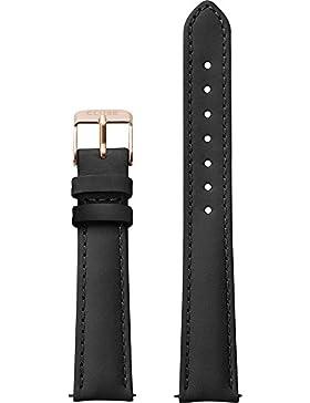 Cluse Damen Armbanduhr Zubehör Lederbänder Leder schwarz CLS301