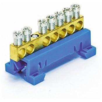 FTG 870N/7 Neutralleiter N-Sammelklemme 7-polig blau 10mm² 63A ...
