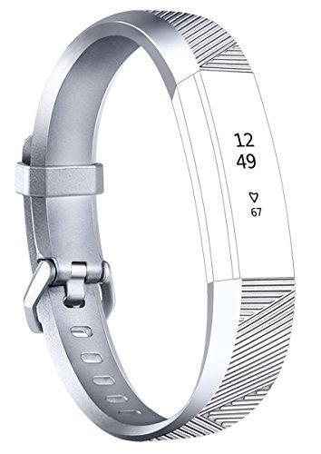 magasiner pour authentique boutique pour officiel incroyable sélection Tobfit Fitbit Alta Band Alta HR Bracelet Replacement en TPU Confortable  Réglable Sport Bracelet Accessorie pour Fitbit Alta et Alta HR (No Tracker)