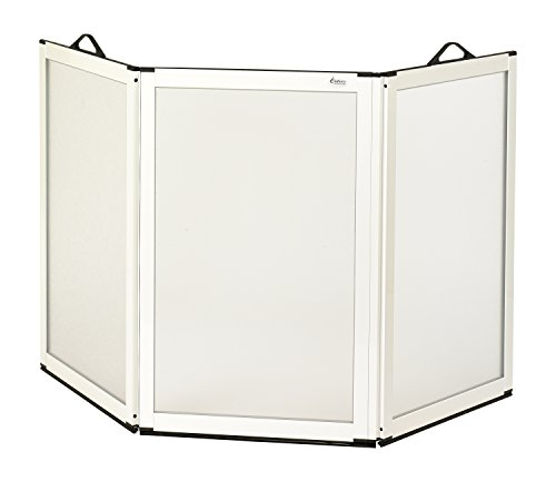 Patterson Medical 75cm Höhe three-panel Tragbare Duschabtrennung