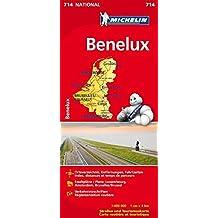 Benelux (Michelin Nationalkarte)