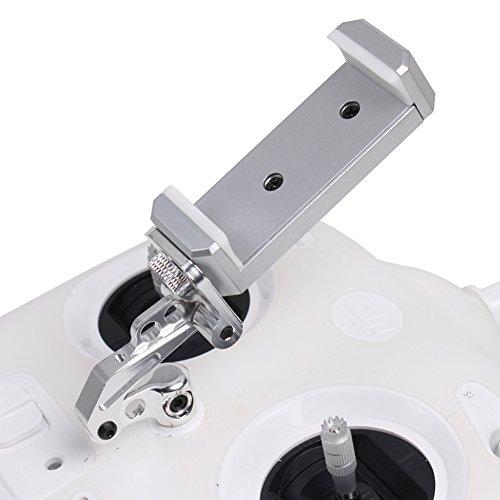 Preisvergleich Produktbild O'woda Handy / Tablet Einstellbar Halter Regler Clip Halterung Montieren Monitor Smartphone Clamp für DJI Phantom 3/4 Inspire 1 (Handyhalterung für 3S)