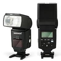 Neewer NW680 speedlite flash est compatible avec Canon GN58.     Caractéristiques:     Compatible avec: Canon 5D Mark II/7D/650D/600D/550D/500D/450D/400D /60D/50D/40D/30D/1100D etc    E-TTL II mode de flash: facile et rapide pour prendre des momen...