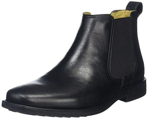 Steptronic , bottes chelsea homme Noir (noir)