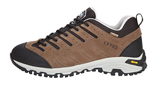 LYTOS Outdoor Tex - Scarpe Stringate, Colore: Marrone/Nero, Marrone (Marrone), 38 EU